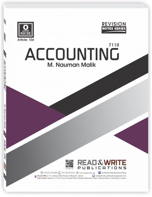Accounting O Level Notes