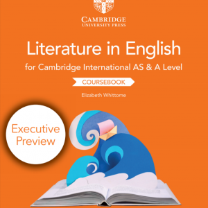 Cambridge International AS & A Level Literature in English Coursebook 2nd Edition