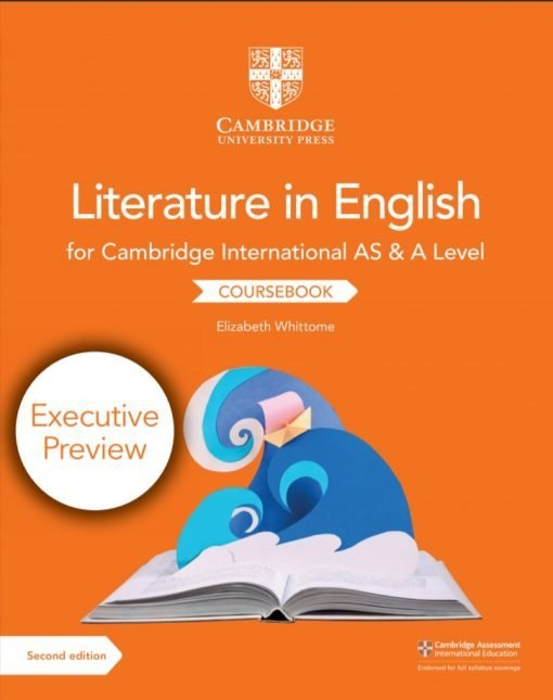 Cambridge International AS A Level Literature in English Coursebook 2nd Edition