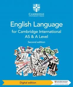 Cambridge International AS and A Level English Language Coursebook Digital Edition 2nd ed.