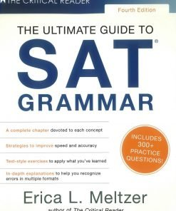 Erica L. Meltzer The Ultimate Guide to SAT Grammer 4th Edition scaled 1