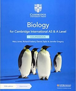Cambridge International AS A Level Biology Coursebook with Digital Access 2 Years 5th Edition