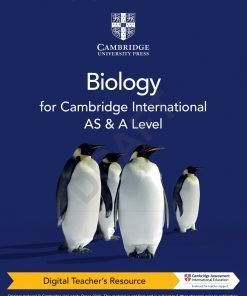 Extract Pages From Cambridge International AS A Level Biology Digital Teachers Resource 1